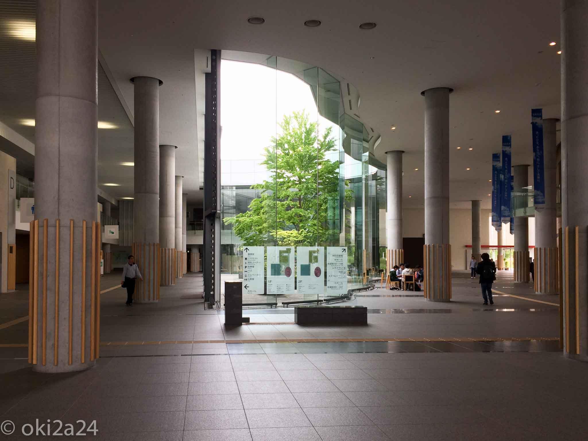 OSC2015 Hokkaido 会場の札幌コンベンションセンターに入ったところ。