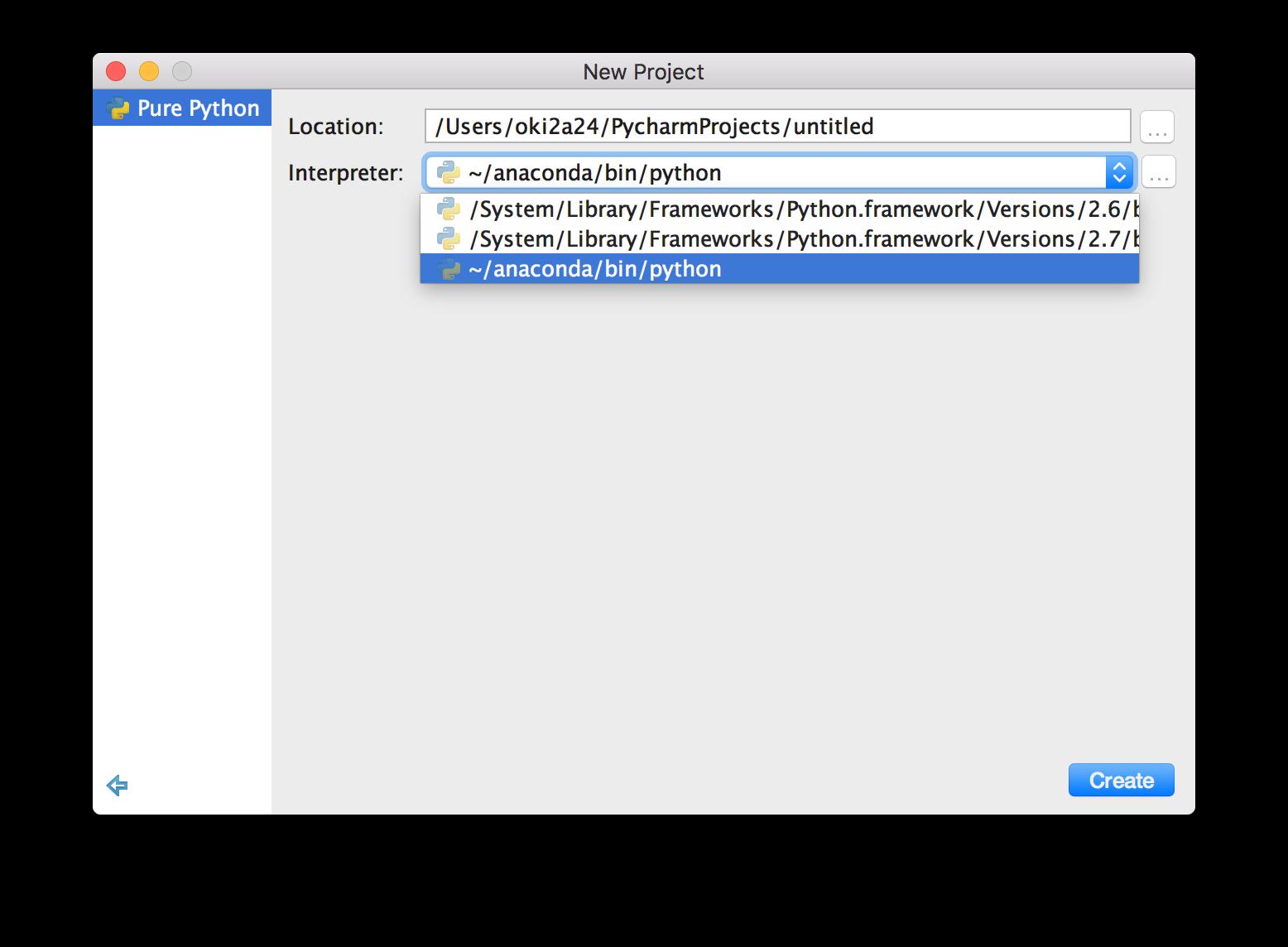 macbook pro désinstalle le module python